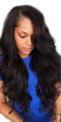 360 Wigs Brazilian Human Body Wave Natural color Hair Lace Wig Natural Baby Hair Pre Plucked With Baby Hair No Shedding