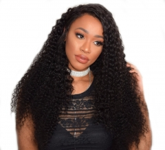 Wigs Online 360 Lace Wigs 150% Density Deep Wave Natural Color Hair Deep Curly  Brazilian Human Hair Top Grade Bleached Knots