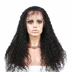 Cheap Full Lace Wig With Natural Baby Hair Pre Plucked Bleached Knots Glueless Lace Wig 250% Density Natural Hair Line For Women