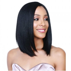 Short Bob Wig Straight 250% Density Wigs Human Hair Lace Front Wigs For Black Women BOB Wig Style