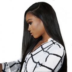 Natural Black Silk Straight Virgin Human Hair Wig Cost Of Full Lace Wigs