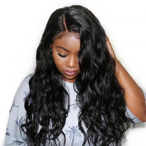 Best Natural Lace Front Wigs Loose Wave  Human Hair Pre-Plucked Natural Hair Line 150% Density wigs Hidden Knots Natural Baby Hair No Shedd