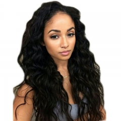 Lace Front Human Hair Wigs Natural Wave Brazilian Remy Human Hair Glueless Human Hair Lace Front Wig with Baby Hair for Black Women