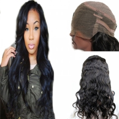 360 Lace Wig Body Wave Extra Heavy Density Brazilian Virgin Remy Human Hair Full Lace Wigs with Baby Hair and Natural Hairline for Black Women