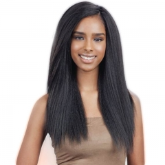 Lace Front Wigs For Black Women Brazilian Virgin Yaki Wig With Baby Hair Virgin Indian Yaki Human Hair