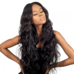Silk Top Full Lace Wigs Cheap Brazilian Virgin Human Hair Full Head Lace Wig  Body Wave Pre-Plucked Natural Hair Line