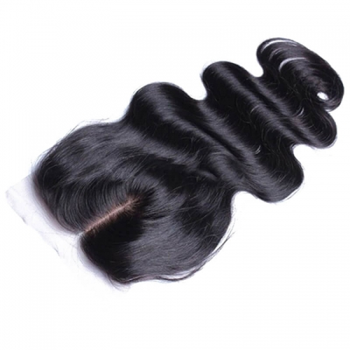 Lace Closures In Beauty Supply Stores Body Wave Brazilian Remy Hair Silk Base Top Lace Closure 4x4inches Natural Color
