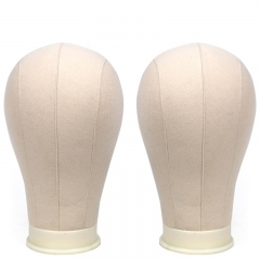 Training Mannequin Head Canvas Block Head Display Styling Mannequin Manikin Head Wig Stand
