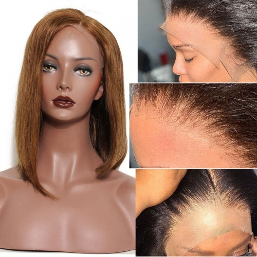 Best HD Transparent Lace Front Wigs Human Hair Full Density Silky Straight Wigs With Baby Hair No Tangle No Shedding Unprocessed Hair Wig Pre-Plucked