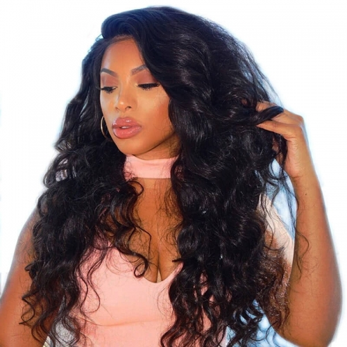 Order HD Transparent Lace Front Wigs Online Natural Hair Line 150% Density wigs with Baby Hair Pre-Plucked Natural Hair Line 150% Density Bleached Kno