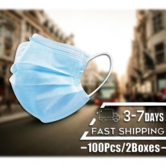 50pcs Disposable Mask US Stock