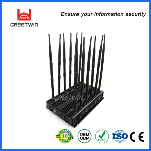 12 Band Block Mobile Phone Indoor Mobile Phone Signal Jammer (GW-JA12)