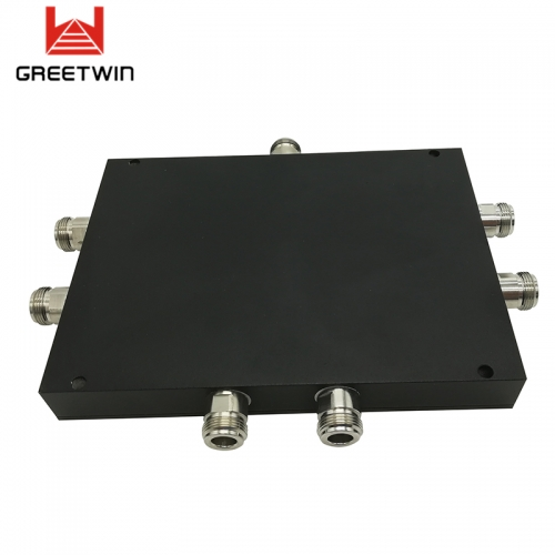 6 Way Microstrip Power Splitter for Signal Booster