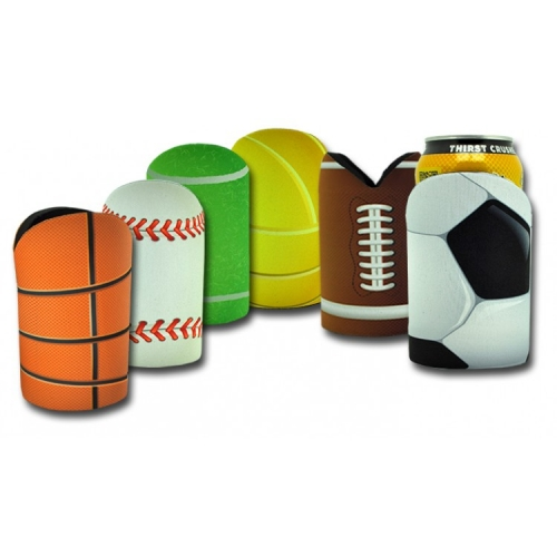 YW018 - Sublimated Sports Ball Cooler with Base