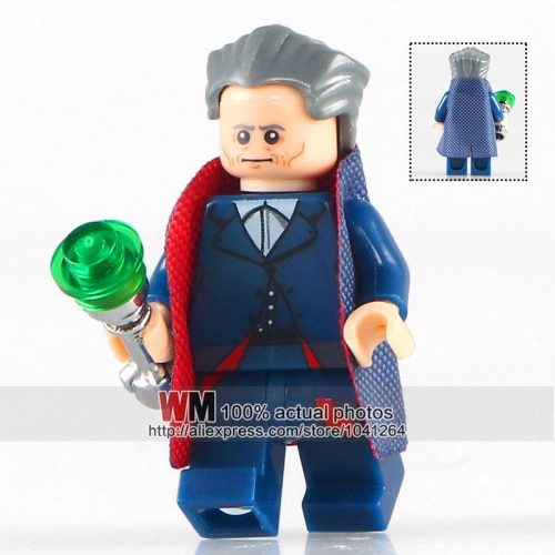 WM Single Sale WM208 The 12th Doctor with Chrome Handle Doctor Who Building Blocks Model Kids Christmas Gifts For Children
