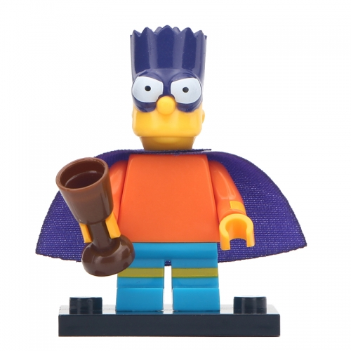 Cartoon Movie Simpson WM115 Building Blocks Figures Toys For Children Gifts
