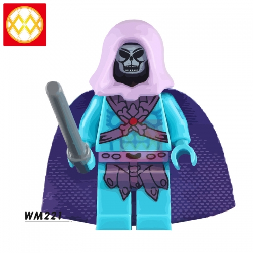 WM221 Skeleton King   Action Figure Building Blocks Kids Educational Toys For Children Boys Bricks