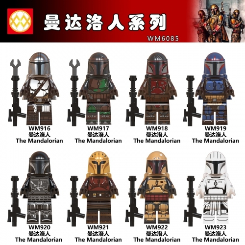 WM6085 Star wars The Mandalorian The rise of Skywalker Children Building Block Toys