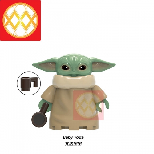 XH1533 Starwars Baby Yoda Mandalorian Building Blocks Bricks Toys For Children