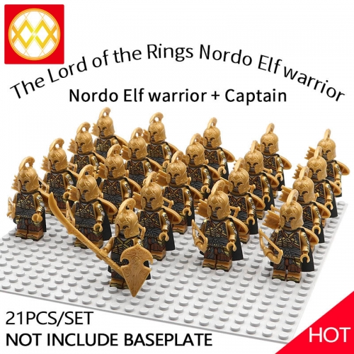 WM1259 21pcs/lot Game of Thrones Lord of the Rings The song of ice and fire Soldier brigade Building blocks for children's toys