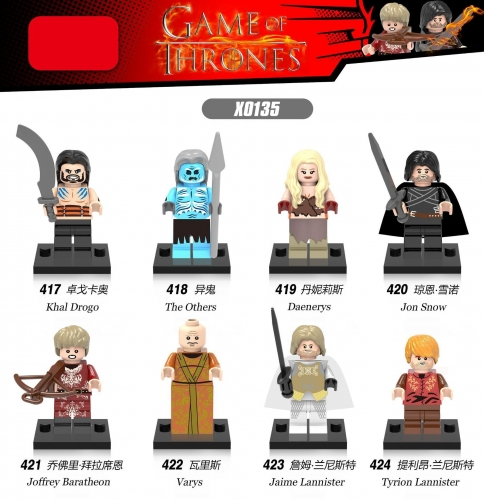 X0135 Game of Thrones Jon Snow Khal Drogo Brienne Dftarth Ygritte Tyrion Lannister Lord Varys Joffrey Lannister Whit Walker R