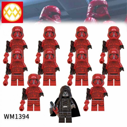 WM1394 SET Star Wars Sith Stormtrooper The Knights of the Lun Action Figure Building Blocks Kids For Children