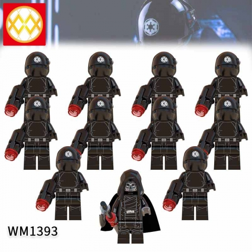 WM1393 SET Star Wars Death Star Artillery The Knights of the Lun Action Figure Building Blocks Kids For Children