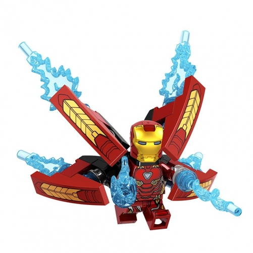 D009  Super Hero Iron Man Building Blocks Figures Toys For Kids