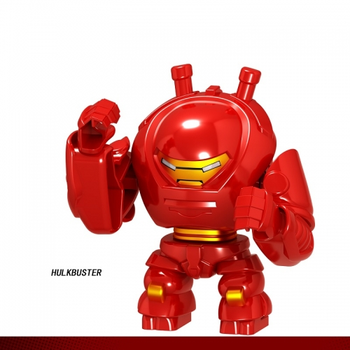 D061  Super Hero Hulkbuster  Building Blocks Figures Toys For Kids
