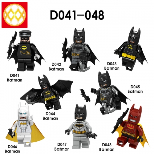 D041-48 Super Hero DC Batman Building Blocks Figures Toys For Kids