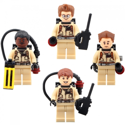 IN STOCK HOT SALE 4PCS/LOT XH108-111 Ghost Busters Figures Building Blocks Bricks Kids toy
