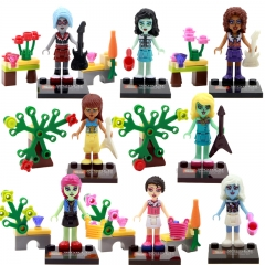 8pcs/set SY268 Hot Sale Grils Action Figure Toys MOC Building Blocks