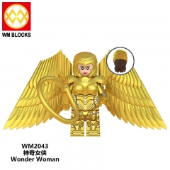 Wholesale WM2043 New Movie Wonder Woman Series Steve Trevor Diana Cheetah Maxwell Lord Barbara Minerva Cheetah Action Figures Toys