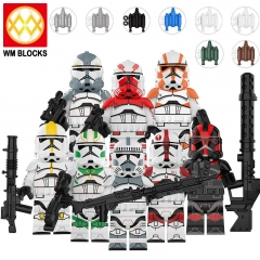 HOT SALE KT1043 Movie Series Old Republic Figure Building Blocks Educational Kids Toys For Children Action Figures Brick