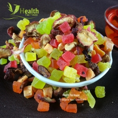 Delicious Chinese Fruit Tea Health Care Fo od Assorted Blended Dried Slimming Fruit Tea Loose Weight organic herbal tea