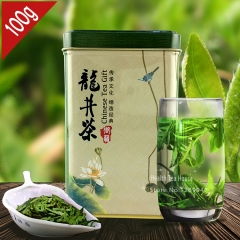 Best West Lake Long Jing Organic Chinese Dragon Well Tea Xihu Longjing Green Tea 100g Gift Box Packing chinese beat green tea organic tea online