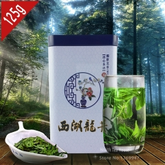 5A Chinese Tea Xihu Longjing Green Tea, Dragon Well Tea Long Jing For Weight Loss 125g Gift Packing chinese beat green tea organic tea online