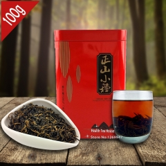 AAAAA Lapsang Souchong Black Tea 100g, Chinese Smokehouse Good Taste Smoked Red Tea With Gift Box Packing premium quality tea