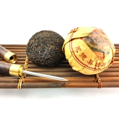 2014 Year Ripe Pu erh Yunnan Tuocha The Chinese Puer Tea Lan Ting Shu Pu'er Thee Imported-China 100g PT01 Aged puerh best organic tea