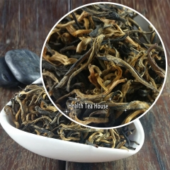 Dian Hong China Yunnan Famous Organic Black Tea With Golden Buds premium quality tea