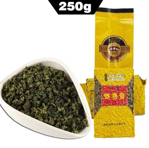 250g Top Chinese Anxi TieGuanYin Green Tea Oolong Tie Guan Yin 1725 Gold Gui Weight Loss China Green Food Slimming Teas Gift best oolong tea