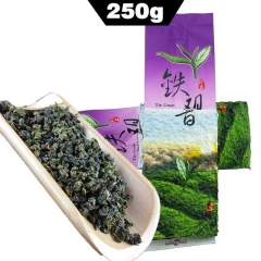 250g Anxi Tie Guan Yin Green Tea, Chinese Oolong TieGuanYin Maoxie Natural Organic Health Fit Tea  to Lose Weight Gift Tea best oolong tea