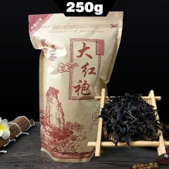 250g Tea Da Hong Pao Big Red Robe Zip Seal Bag Package, Wuyi Oolong DaHongPao Shui Xian Da Hong Pao Tea best oolong tea
