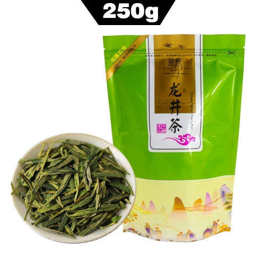 Longjing Green Tea Chinese Organic Food Dragon Well Tea Long Jing Tea 250g / Bag AAA chinese beat green tea organic tea online