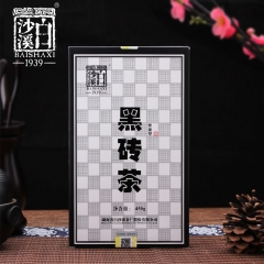 Anhua Baishaxi 2017 yr Instant Dark Tea Shortcut Brick Tea 450g