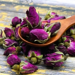 Chinese Tea Purple Rosebud Rose Buds Dried Flower Floral Herbal