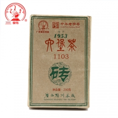Three Cranes Chinese San He 2012 Liu Pao Tea 1103 Dark Tea Hei Cha Golden Flower Teas 230g