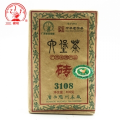 Three Cranes Sanhe 2013 Liu Pao Tea 3108 Dark Tea Hei Cha Brick Teas Chinese Tea 400g