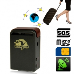 GSM / GPRS / GPS Portable Vehicle Tracking System, Global Smallest GPS Tracking Device, Support 4GB Micro SD Card Memory, Band: 850 / 900 / 1800 / 1900MHZ (102)