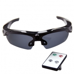 HD 720P Sports Sunglass 5.0 Megapixel Hidden Camera, 170 Degree Wide Angle HD Lens(Black)